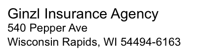 Ginzl Insurance Agency